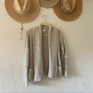 BCBGeneration Gray/white sweater